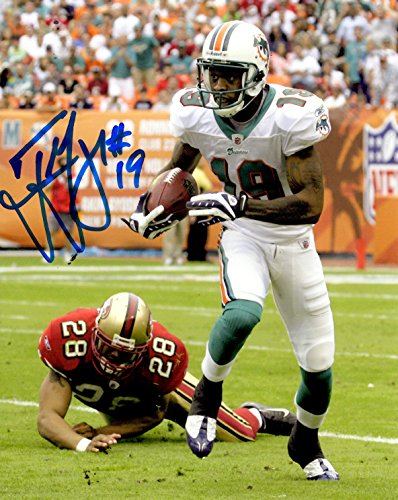 (Autographed Ted Ginn Jr 8x10 Miami Dolphins Photo)