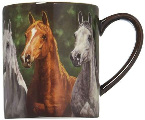 Lang Heads Up Mug by Chris Cummings, 14 oz, ()