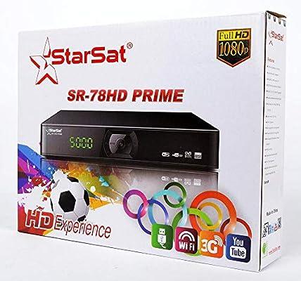 StarSat SR-78HD Full HD Satellite Receiver: Buy Online at