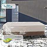 PHI VILLA Patio Table & Chairs Set Cover, Water