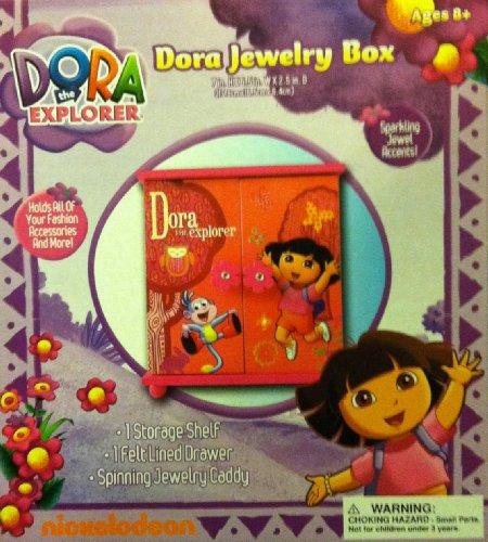 Amazoncom Nickelodeon Dora the Explorer Girls Armoire Jewelry Box