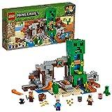 LEGO Minecraft The Creeper Mine 21155 Building Kit, New 2019 (834 Pieces)