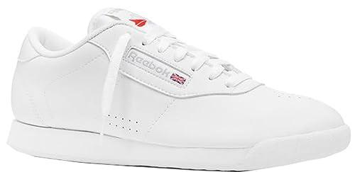 Reebok PRINCESS Leather – Zapatillas para mujer en 2 colores, color Blanco, talla 37