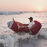 Cool things about our Loungers:*Relax Super Fast and It's Adjustable sets up in seconds with an adjustable back so you can sit up right or lay flat!*Never Buy Another Lounger Again not easy to puncture but easy to patch or buy replacement parts if ne...