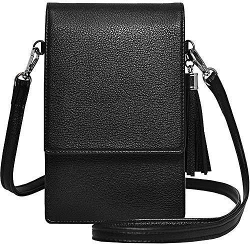 (Small Crossbody Bag Cell Phone Purse Wallet Lightweight Roomy Travel Passport Bag Crossbody Handbags for)