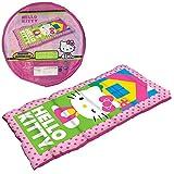 Hello Kitty Pink Children's Sleeping Slumber Sleepover Bag in storage bag