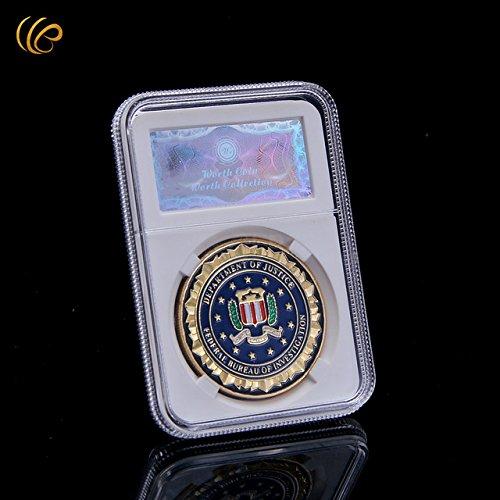 Generic NEU von Importiert Hot Sale Cute Casino Poker Token Medaille Shark Design 24 K vergoldete Metall Medaille Gute Qualität Runde Münze mit Sicherheit Code Box
