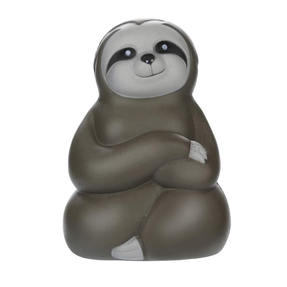 Staron Kids Squishies Toy Adorable Sloth Jumbo Kawaii Animals Slow Rising Squishy Charms Exquisite Lovely Soft Squishy Toys for Boys (A)