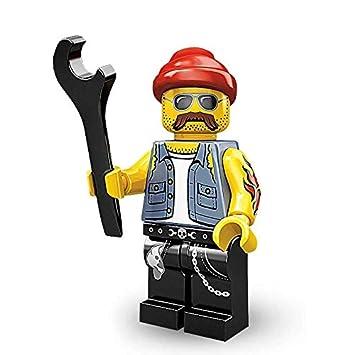 Motorcycle Mechanic NEW LEGO MINIFIGURES SERIES 10 71001