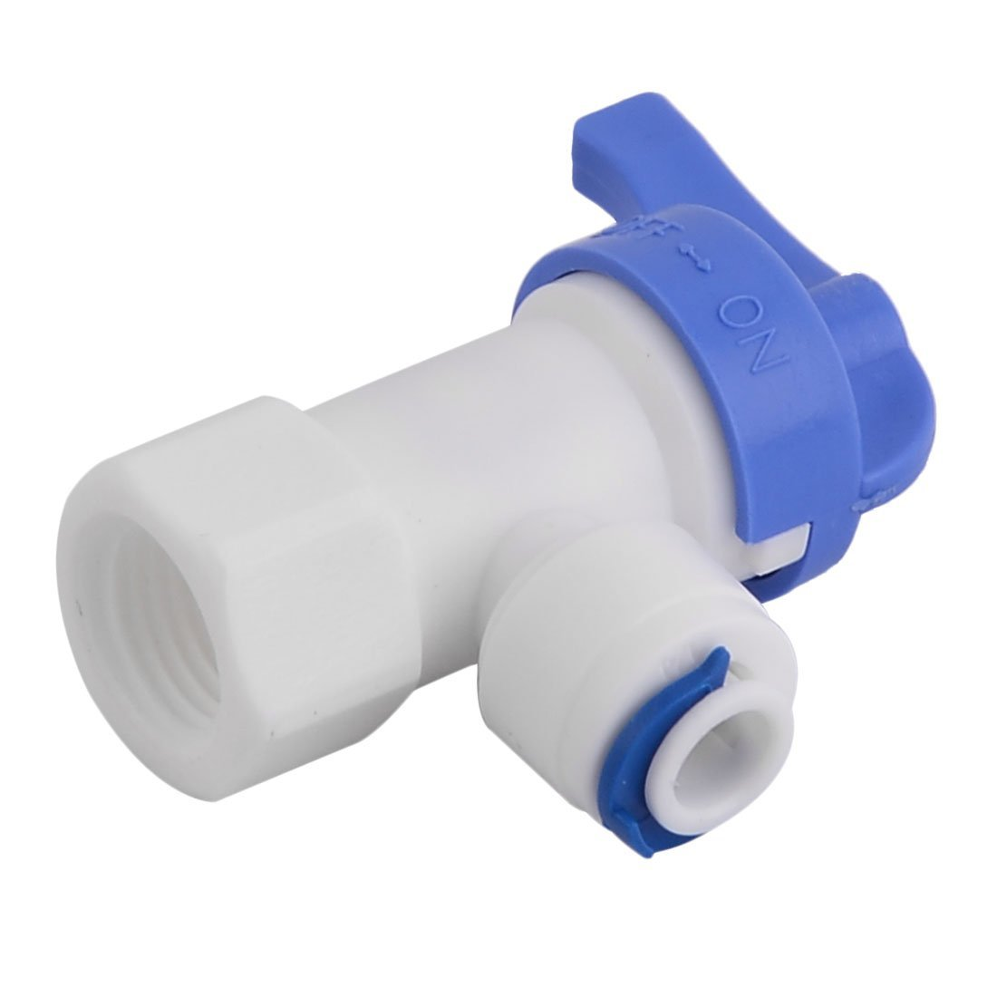 Amazon.com: Filtro eDealMax plástico de la cocina purificador de agua Purificación del tanque Válvula de bola Conector dispensador: Kitchen & Dining