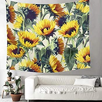 Amazon.com: Leofanger Flower Tapestry Wall Hanging, Forest Tapestry on
