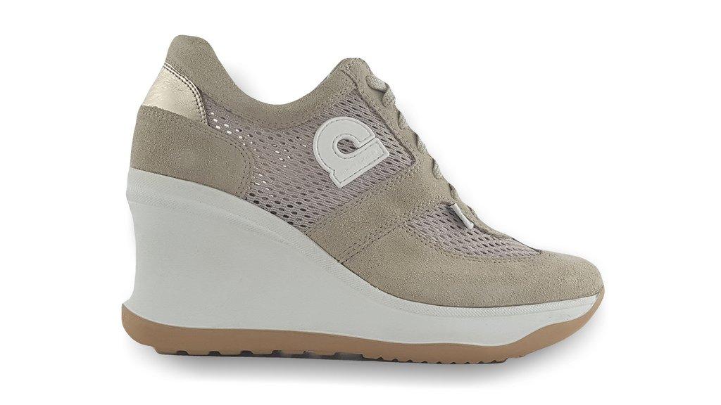 Agile By Rucoline RUCOLINE 1800-83401 Sneakers Mujer 38 EU|Beige