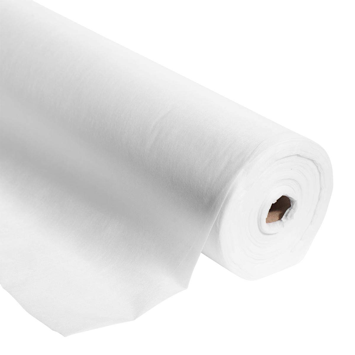 White Gossamer Decorating Material, 59 Inches x 100 Yards Long, Decorating Prom, Homecoming, Wedding Ceilings and Walls