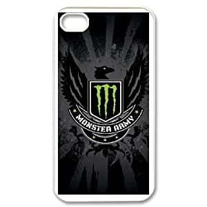 iPhone 4,4S Phone Cases Monster Energy HG646122