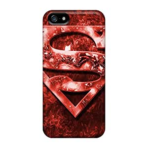 Protector Hard Cell-phone Case For Iphone 5/5s With Provide Private Custom Beautiful Superman Skin JoanneOickle