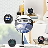Echo Spot Webcam Cover[2-Pack] -The metal covers can cover Echo Spots camera then protect the privacy of all users .Very easy to install.Designed By VMEI (Silver)