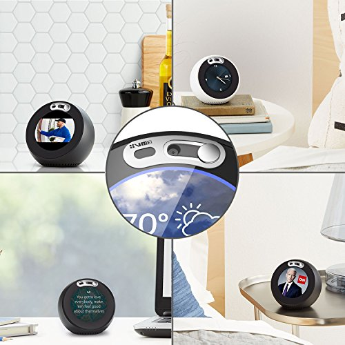 Echo Spot Webcam Cover[2-Pack] -The metal covers can cover Echo Spot's camera then protect the privacy of all users .Very easy to install.Designed By VMEI (Silver)