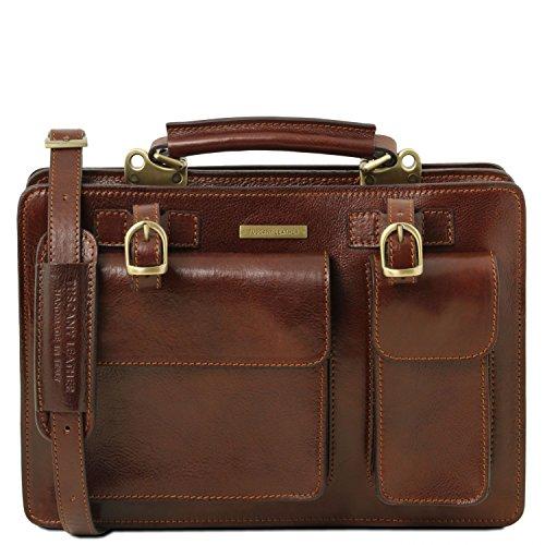 Miele Marrone da donna Misura 3 Tania TL141269 a Borsa mano Tuscany Leather in grande pelle P6qS8a