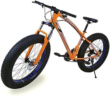 Riscko Fat Bike Bicicleta Todo Terreno Color Naranja BEP-11 ...