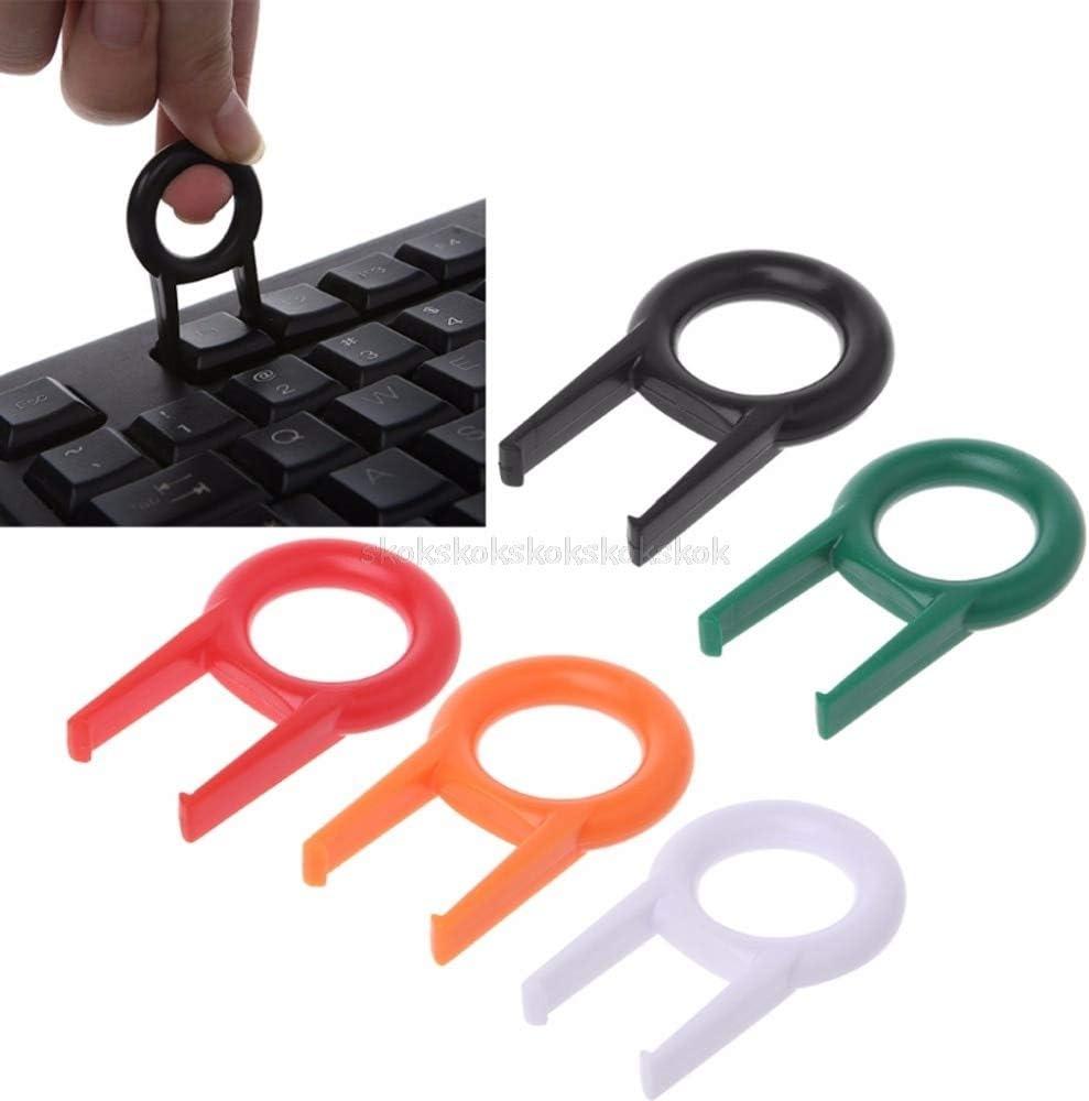 10Pcs Mechanical Keyboard Keycap Puller Remover for Keyboards Key Cap Fixing Tool Random Color Mr27 19 V2AMZ
