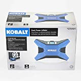 Kobalt 120v & 12v Portable Air Compressor Inflator Tire Pump Nozzle Needles 120 PSI LED Display Review