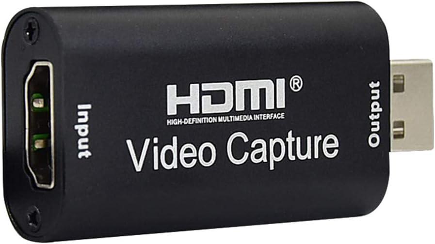 cam/éra HD Sapphero Mini carte de capture vid/éo USB HDMI pour jeu PS4 enregistrement en direct DVD cam/éscope