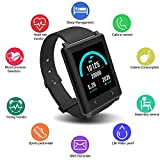 uwinmo Fitness Tracker, Heart Rate Monitor Watch with Color Screen, Waterproof Activity Tracker with Step Counter Calorie Counter Sleep Monitor for Android and IOS, Smart Watch for Kids Women and Men