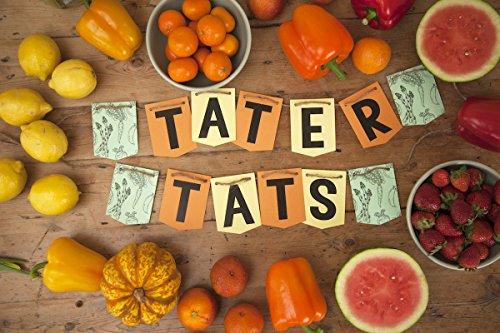 Tater Tats Pop-Up Tattoo Parlor: 100 Temporary Vegetable Tattoos by Tater Tats (Image #4)