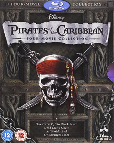 Pirates Caribbean Four Movie Collection Blu ray