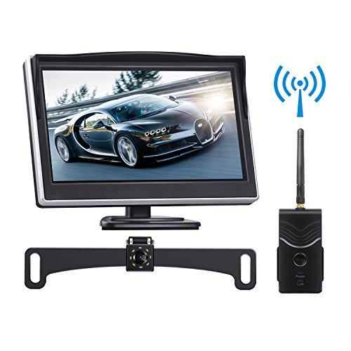 Digital Wireless Backup Camera Kit Toguard 5 Lcd Backup