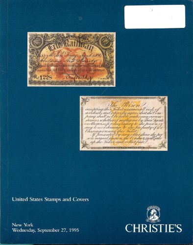 United States Stamps and Covers (Stamp Auction Catalog) (Christie