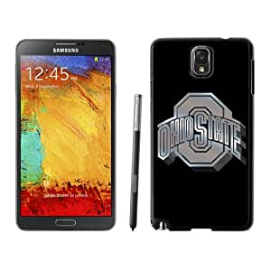 Customized Galaxy Note 3 Cases with Ncaa Big Ten Conference Football Ohio State Buckeyes 13 Protective Cell Phone Hardshell Cover Case for Galaxy Note 3 III N900 N9005 Black