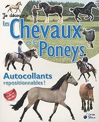 Je découvre les chevaux et les poneys : Autocollants repositionnables !
