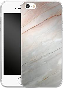 Smartphone Silicone Mobile Phone Case Mother of Pearl Marble Apple iPhone 5/SE