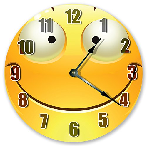 Happy Face Emoji Clocks 10.5