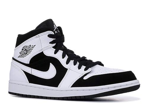 quality design eb3b9 b03a4 Nike Air Jordan 1 Mid, Zapatos de Baloncesto para Hombre  Amazon.es  Zapatos  y complementos