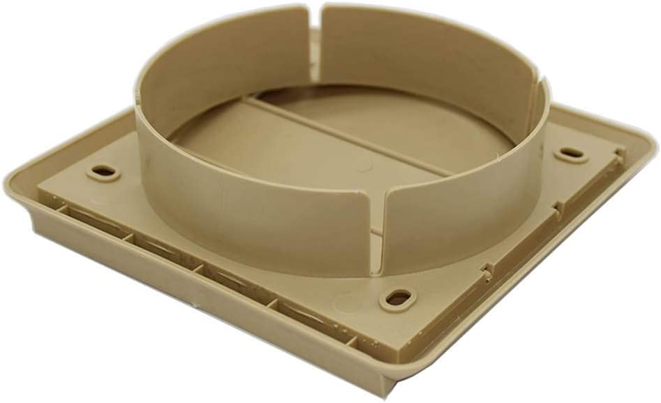 BEIGE by Kair GRAVITY GRILLE 125MM ROUND SPIGOT