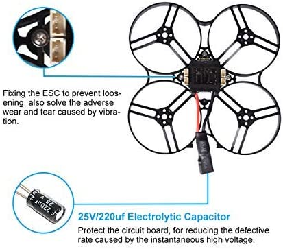 BETAFPV Beta85X 4K 4S DSMX Brushless Cine Whoop Quadcopter with F4 V2 FC BLHeli/_32 16A ESC Tarsier 4K Camera 1105 5000KV Motor XT30 Cable for Micro Whoop Drone FPV Racing