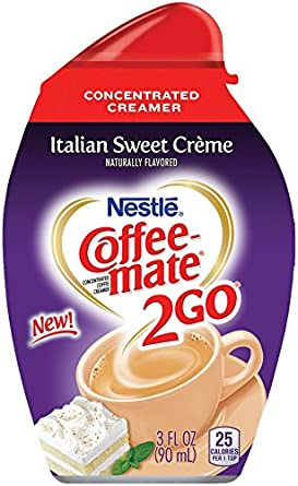 Coffee Mate 2go Italian Sweet Creme Concentrated Liquid