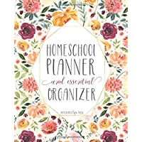 Mega Homeschool Planner and Organizer 'Floral': Fully Customizable Planner, Organizer, and Record Keeper for Homeschool…