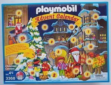Playmobil Advent Calendar: Christmas Carolers