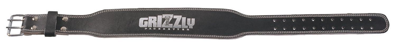 Power Systems Grizzly Fitness 4-Zoll Gepolsterte Ton Training Gürtel Small schwarz - schwarz