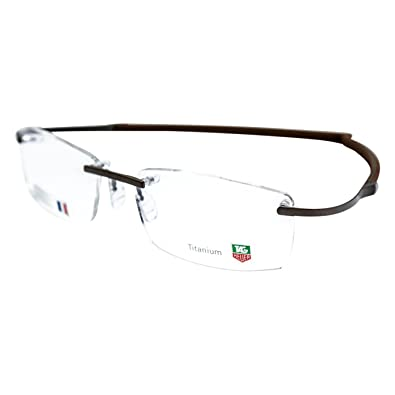 317087f7d82 Amazon.com  Tag Heuer 0344 Spring Rubber Eyeglasses Color 013  Shoes