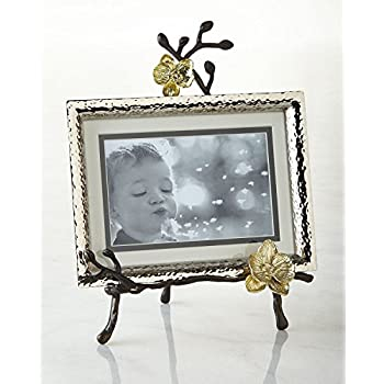 Amazon.com - Michael Aram Golden Orchid Easel Frame (Holds 4x6 or ...