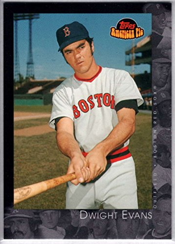 Baseball MLB 2001 Topps American Pie #26 Dwight Evans Red Sox