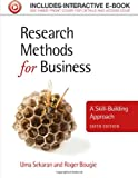 Research Methods for Business, Uma Sekaran and Roger Bougie, 111994225X