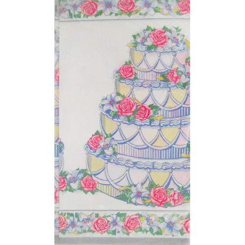 OKSLO Bridal shower 'eternal love' paper table cover ()