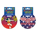 Wonder Woman Lasso Stainless Steel Super Hero Coaster Bottle Opener