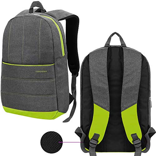 Travel Bookbag Business Laptop Backpack Bag for 13.3 Inch 15.6 Inch Laptop, Compatible HP,Huawei,Lenovo,LG,Microsoft,MSI,Razer,Samsung, Green