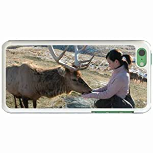 Lmf DIY phone caseCustom Fashion Design Apple iphone 6 4.7 inch Back Cover Case Personalized Customized Diy Gifts In deer stag WhiteLmf DIY phone case
